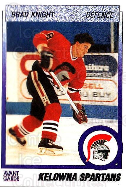 1991-92 British Columbia Junior Hockey League #29 Brad Knight<br/>4 In Stock - $2.00 each - <a href=https://centericecollectibles.foxycart.com/cart?name=1991-92%20British%20Columbia%20Junior%20Hockey%20League%20%2329%20Brad%20Knight...&price=$2.00&code=15751 class=foxycart> Buy it now! </a>