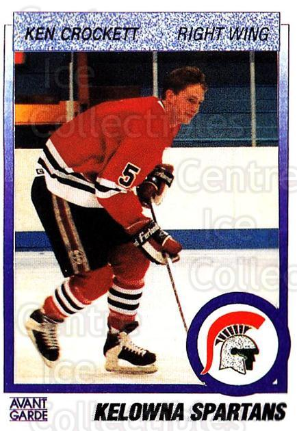 1991-92 British Columbia Junior Hockey League #31 Ken Crockett<br/>5 In Stock - $2.00 each - <a href=https://centericecollectibles.foxycart.com/cart?name=1991-92%20British%20Columbia%20Junior%20Hockey%20League%20%2331%20Ken%20Crockett...&price=$2.00&code=15754 class=foxycart> Buy it now! </a>