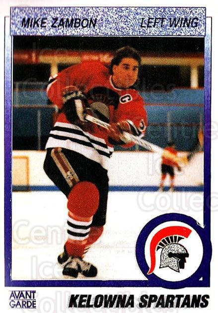 1991-92 British Columbia Junior Hockey League #34 Mike Zambon<br/>5 In Stock - $2.00 each - <a href=https://centericecollectibles.foxycart.com/cart?name=1991-92%20British%20Columbia%20Junior%20Hockey%20League%20%2334%20Mike%20Zambon...&price=$2.00&code=15757 class=foxycart> Buy it now! </a>