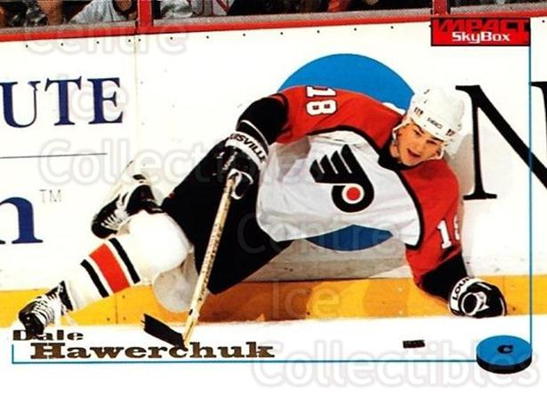 1996-97 SkyBox Impact #94 Dale Hawerchuk<br/>5 In Stock - $1.00 each - <a href=https://centericecollectibles.foxycart.com/cart?name=1996-97%20SkyBox%20Impact%20%2394%20Dale%20Hawerchuk...&quantity_max=5&price=$1.00&code=157587 class=foxycart> Buy it now! </a>