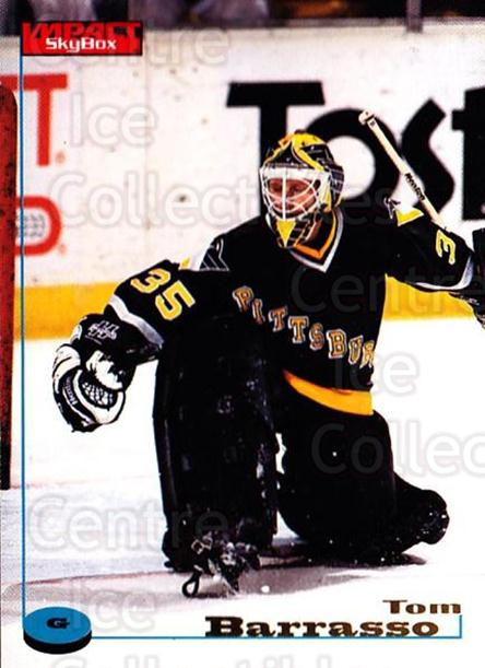 1996-97 SkyBox Impact #99 Tom Barrasso<br/>3 In Stock - $2.00 each - <a href=https://centericecollectibles.foxycart.com/cart?name=1996-97%20SkyBox%20Impact%20%2399%20Tom%20Barrasso...&quantity_max=3&price=$2.00&code=157592 class=foxycart> Buy it now! </a>