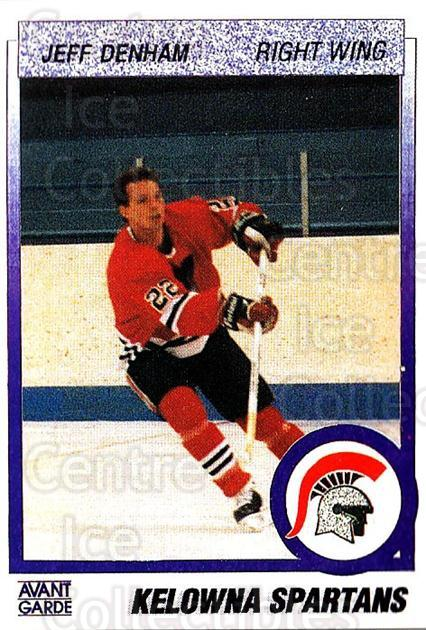 1991-92 British Columbia Junior Hockey League #37 Jeff Denham<br/>5 In Stock - $2.00 each - <a href=https://centericecollectibles.foxycart.com/cart?name=1991-92%20British%20Columbia%20Junior%20Hockey%20League%20%2337%20Jeff%20Denham...&price=$2.00&code=15806 class=foxycart> Buy it now! </a>