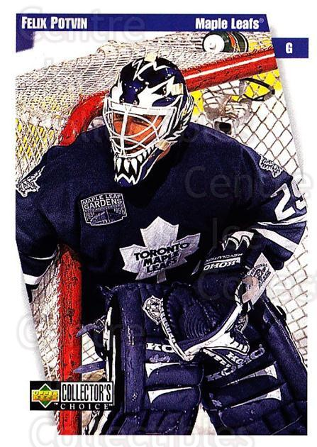 1997-98 Collectors Choice #252 Felix Potvin<br/>3 In Stock - $1.00 each - <a href=https://centericecollectibles.foxycart.com/cart?name=1997-98%20Collectors%20Choice%20%23252%20Felix%20Potvin...&quantity_max=3&price=$1.00&code=158111 class=foxycart> Buy it now! </a>