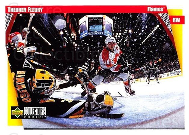 1997-98 Collectors Choice #40 Theo Fleury<br/>5 In Stock - $1.00 each - <a href=https://centericecollectibles.foxycart.com/cart?name=1997-98%20Collectors%20Choice%20%2340%20Theo%20Fleury...&quantity_max=5&price=$1.00&code=158191 class=foxycart> Buy it now! </a>