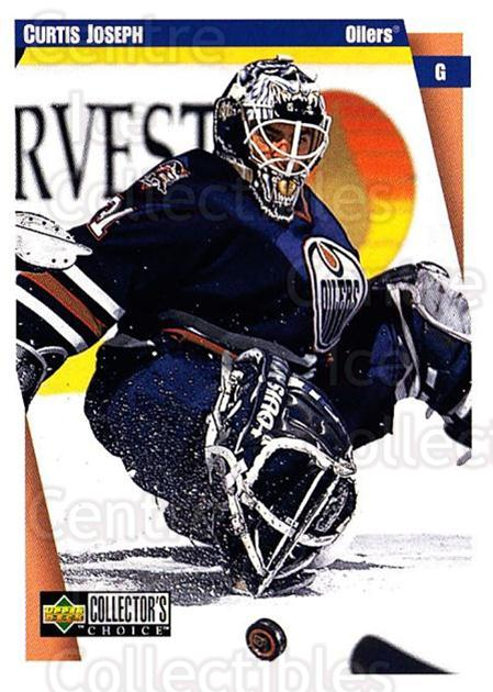1997-98 Collectors Choice #89 Curtis Joseph<br/>5 In Stock - $1.00 each - <a href=https://centericecollectibles.foxycart.com/cart?name=1997-98%20Collectors%20Choice%20%2389%20Curtis%20Joseph...&quantity_max=5&price=$1.00&code=158241 class=foxycart> Buy it now! </a>