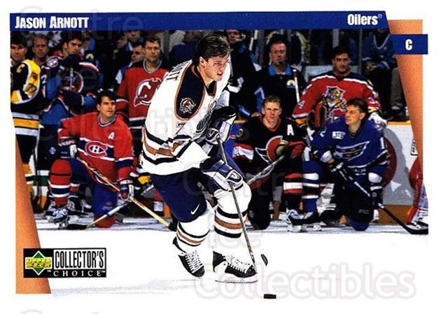 1997-98 Collectors Choice #95 Jason Arnott<br/>5 In Stock - $1.00 each - <a href=https://centericecollectibles.foxycart.com/cart?name=1997-98%20Collectors%20Choice%20%2395%20Jason%20Arnott...&quantity_max=5&price=$1.00&code=158247 class=foxycart> Buy it now! </a>