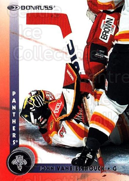 1997-98 Donruss #58 John Vanbiesbrouck<br/>4 In Stock - $1.00 each - <a href=https://centericecollectibles.foxycart.com/cart?name=1997-98%20Donruss%20%2358%20John%20Vanbiesbro...&quantity_max=4&price=$1.00&code=158282 class=foxycart> Buy it now! </a>