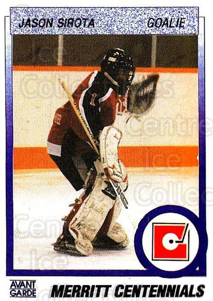 1991-92 British Columbia Junior Hockey League #64 Jason Sirota<br/>6 In Stock - $2.00 each - <a href=https://centericecollectibles.foxycart.com/cart?name=1991-92%20British%20Columbia%20Junior%20Hockey%20League%20%2364%20Jason%20Sirota...&quantity_max=6&price=$2.00&code=15834 class=foxycart> Buy it now! </a>