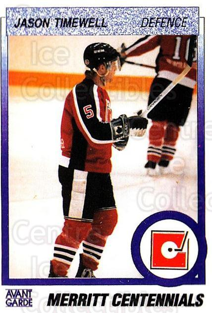 1991-92 British Columbia Junior Hockey League #67 Jason Timewell<br/>6 In Stock - $2.00 each - <a href=https://centericecollectibles.foxycart.com/cart?name=1991-92%20British%20Columbia%20Junior%20Hockey%20League%20%2367%20Jason%20Timewell...&quantity_max=6&price=$2.00&code=15837 class=foxycart> Buy it now! </a>