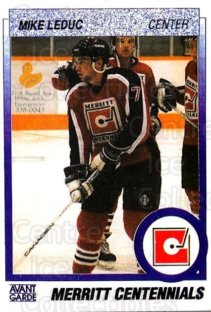 1991-92 British Columbia Junior Hockey League #69 Mike Leduc<br/>6 In Stock - $2.00 each - <a href=https://centericecollectibles.foxycart.com/cart?name=1991-92%20British%20Columbia%20Junior%20Hockey%20League%20%2369%20Mike%20Leduc...&quantity_max=6&price=$2.00&code=15839 class=foxycart> Buy it now! </a>