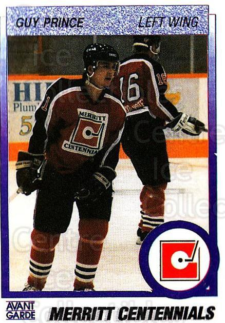 1991-92 British Columbia Junior Hockey League #71 Guy Prince<br/>6 In Stock - $2.00 each - <a href=https://centericecollectibles.foxycart.com/cart?name=1991-92%20British%20Columbia%20Junior%20Hockey%20League%20%2371%20Guy%20Prince...&quantity_max=6&price=$2.00&code=15842 class=foxycart> Buy it now! </a>