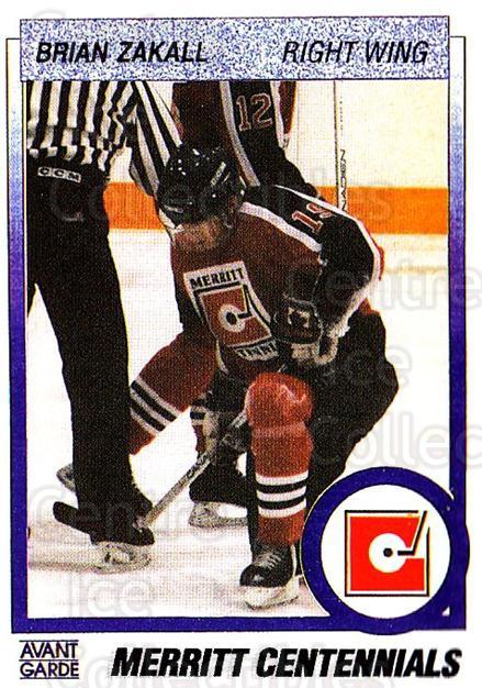 1991-92 British Columbia Junior Hockey League #74 Brian Zakall<br/>6 In Stock - $2.00 each - <a href=https://centericecollectibles.foxycart.com/cart?name=1991-92%20British%20Columbia%20Junior%20Hockey%20League%20%2374%20Brian%20Zakall...&quantity_max=6&price=$2.00&code=15845 class=foxycart> Buy it now! </a>