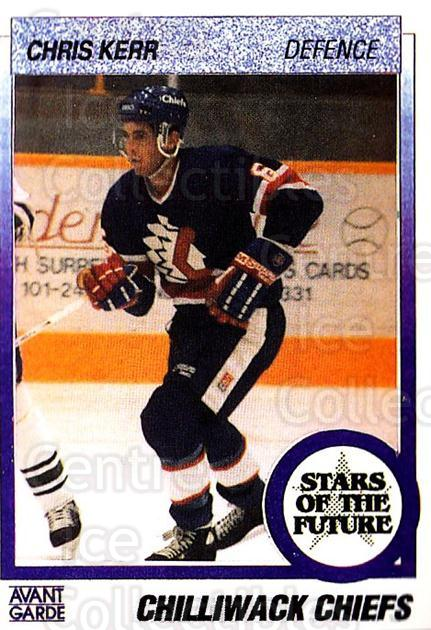 1991-92 British Columbia Junior Hockey League #81 Chris Kerr<br/>5 In Stock - $2.00 each - <a href=https://centericecollectibles.foxycart.com/cart?name=1991-92%20British%20Columbia%20Junior%20Hockey%20League%20%2381%20Chris%20Kerr...&quantity_max=5&price=$2.00&code=15852 class=foxycart> Buy it now! </a>