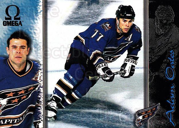 1997-98 Omega Dark Grey #243 Adam Oates<br/>4 In Stock - $2.00 each - <a href=https://centericecollectibles.foxycart.com/cart?name=1997-98%20Omega%20Dark%20Grey%20%23243%20Adam%20Oates...&quantity_max=4&price=$2.00&code=158622 class=foxycart> Buy it now! </a>