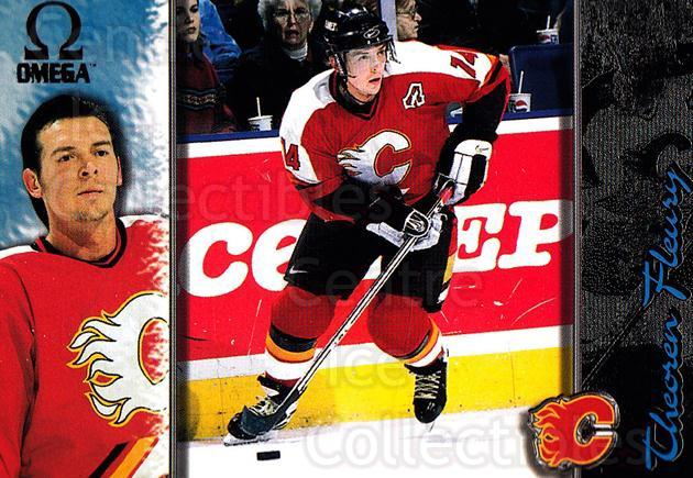1997-98 Omega Dark Grey #29 Theo Fleury<br/>3 In Stock - $2.00 each - <a href=https://centericecollectibles.foxycart.com/cart?name=1997-98%20Omega%20Dark%20Grey%20%2329%20Theo%20Fleury...&quantity_max=3&price=$2.00&code=158631 class=foxycart> Buy it now! </a>