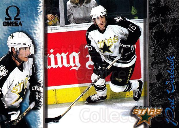 1997-98 Omega Dark Grey #76 Pat Verbeek<br/>5 In Stock - $2.00 each - <a href=https://centericecollectibles.foxycart.com/cart?name=1997-98%20Omega%20Dark%20Grey%20%2376%20Pat%20Verbeek...&quantity_max=5&price=$2.00&code=158676 class=foxycart> Buy it now! </a>