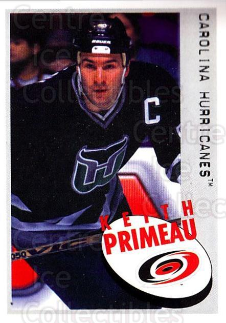 1997-98 Panini Stickers #27 Keith Primeau<br/>5 In Stock - $1.00 each - <a href=https://centericecollectibles.foxycart.com/cart?name=1997-98%20Panini%20Stickers%20%2327%20Keith%20Primeau...&quantity_max=5&price=$1.00&code=158870 class=foxycart> Buy it now! </a>