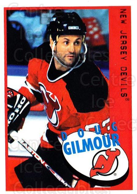 1997-98 Panini Stickers #66 Doug Gilmour<br/>4 In Stock - $1.00 each - <a href=https://centericecollectibles.foxycart.com/cart?name=1997-98%20Panini%20Stickers%20%2366%20Doug%20Gilmour...&quantity_max=4&price=$1.00&code=158910 class=foxycart> Buy it now! </a>