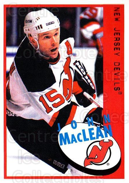 1997-98 Panini Stickers #70 John MacLean<br/>5 In Stock - $1.00 each - <a href=https://centericecollectibles.foxycart.com/cart?name=1997-98%20Panini%20Stickers%20%2370%20John%20MacLean...&quantity_max=5&price=$1.00&code=158914 class=foxycart> Buy it now! </a>