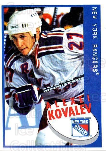 1997-98 Panini Stickers #85 Alexei Kovalev<br/>5 In Stock - $1.00 each - <a href=https://centericecollectibles.foxycart.com/cart?name=1997-98%20Panini%20Stickers%20%2385%20Alexei%20Kovalev...&quantity_max=5&price=$1.00&code=158929 class=foxycart> Buy it now! </a>