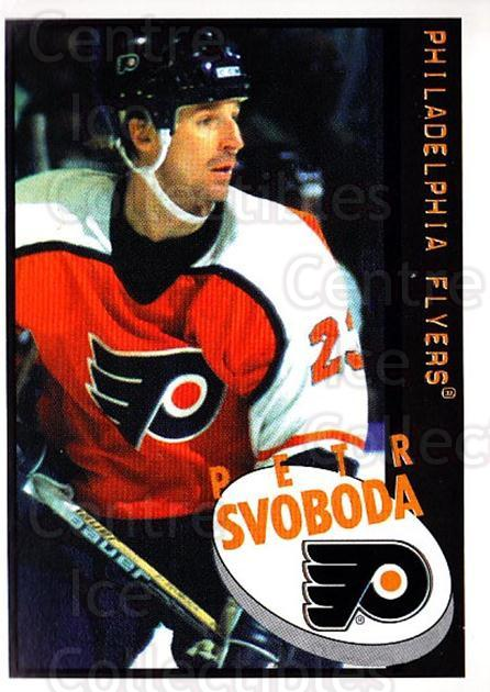 1997-98 Panini Stickers #97 Petr Svoboda<br/>4 In Stock - $1.00 each - <a href=https://centericecollectibles.foxycart.com/cart?name=1997-98%20Panini%20Stickers%20%2397%20Petr%20Svoboda...&quantity_max=4&price=$1.00&code=158941 class=foxycart> Buy it now! </a>