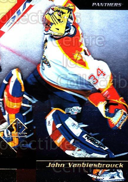 1997-98 SP Authentic #69 John Vanbiesbrouck<br/>4 In Stock - $1.00 each - <a href=https://centericecollectibles.foxycart.com/cart?name=1997-98%20SP%20Authentic%20%2369%20John%20Vanbiesbro...&quantity_max=4&price=$1.00&code=159012 class=foxycart> Buy it now! </a>