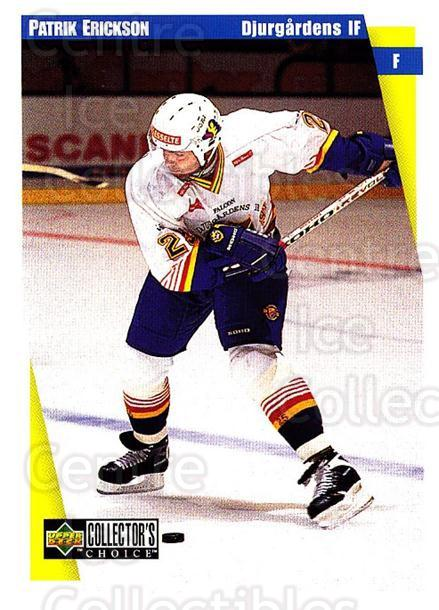 1997-98 Swedish Collectors Choice #47 Patrik Erickson<br/>8 In Stock - $2.00 each - <a href=https://centericecollectibles.foxycart.com/cart?name=1997-98%20Swedish%20Collectors%20Choice%20%2347%20Patrik%20Erickson...&price=$2.00&code=159050 class=foxycart> Buy it now! </a>