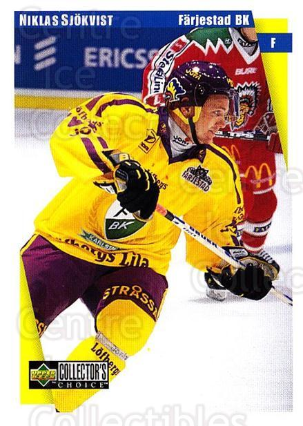 1997-98 Swedish Collectors Choice #54 Niklas Sjokvist<br/>12 In Stock - $2.00 each - <a href=https://centericecollectibles.foxycart.com/cart?name=1997-98%20Swedish%20Collectors%20Choice%20%2354%20Niklas%20Sjokvist...&quantity_max=12&price=$2.00&code=159058 class=foxycart> Buy it now! </a>