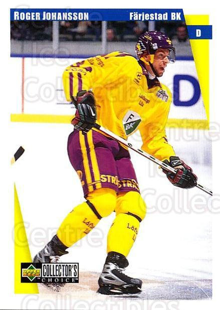 1997-98 Swedish Collectors Choice #57 Roger Johansson<br/>13 In Stock - $2.00 each - <a href=https://centericecollectibles.foxycart.com/cart?name=1997-98%20Swedish%20Collectors%20Choice%20%2357%20Roger%20Johansson...&quantity_max=13&price=$2.00&code=159060 class=foxycart> Buy it now! </a>
