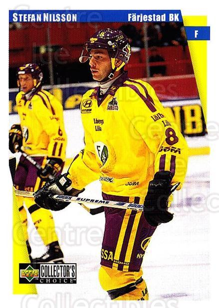 1997-98 Swedish Collectors Choice #58 Stefan Nilsson<br/>9 In Stock - $2.00 each - <a href=https://centericecollectibles.foxycart.com/cart?name=1997-98%20Swedish%20Collectors%20Choice%20%2358%20Stefan%20Nilsson...&quantity_max=9&price=$2.00&code=159061 class=foxycart> Buy it now! </a>