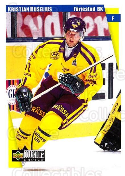 1997-98 Swedish Collectors Choice #60 Kristian Huselius<br/>5 In Stock - $2.00 each - <a href=https://centericecollectibles.foxycart.com/cart?name=1997-98%20Swedish%20Collectors%20Choice%20%2360%20Kristian%20Huseli...&quantity_max=5&price=$2.00&code=159064 class=foxycart> Buy it now! </a>