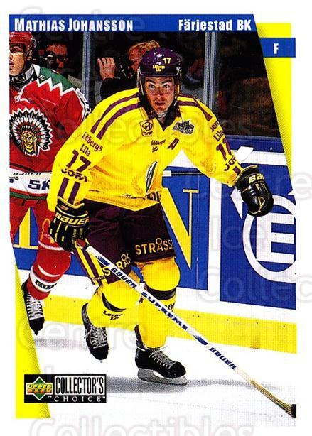 1997-98 Swedish Collectors Choice #61 Mathias Johansson<br/>8 In Stock - $2.00 each - <a href=https://centericecollectibles.foxycart.com/cart?name=1997-98%20Swedish%20Collectors%20Choice%20%2361%20Mathias%20Johanss...&quantity_max=8&price=$2.00&code=159065 class=foxycart> Buy it now! </a>