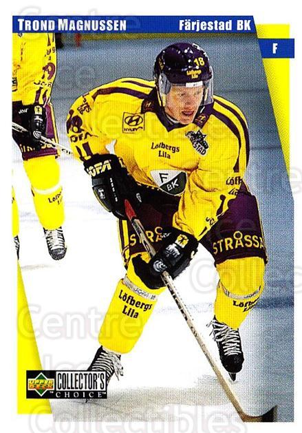 1997-98 Swedish Collectors Choice #62 Trond Magnussen<br/>7 In Stock - $2.00 each - <a href=https://centericecollectibles.foxycart.com/cart?name=1997-98%20Swedish%20Collectors%20Choice%20%2362%20Trond%20Magnussen...&quantity_max=7&price=$2.00&code=159066 class=foxycart> Buy it now! </a>