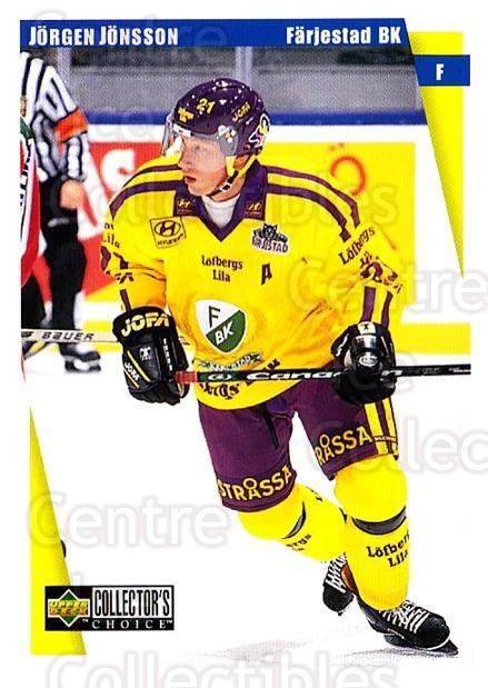 1997-98 Swedish Collectors Choice #64 Jorgen Jonsson<br/>9 In Stock - $2.00 each - <a href=https://centericecollectibles.foxycart.com/cart?name=1997-98%20Swedish%20Collectors%20Choice%20%2364%20Jorgen%20Jonsson...&quantity_max=9&price=$2.00&code=159068 class=foxycart> Buy it now! </a>