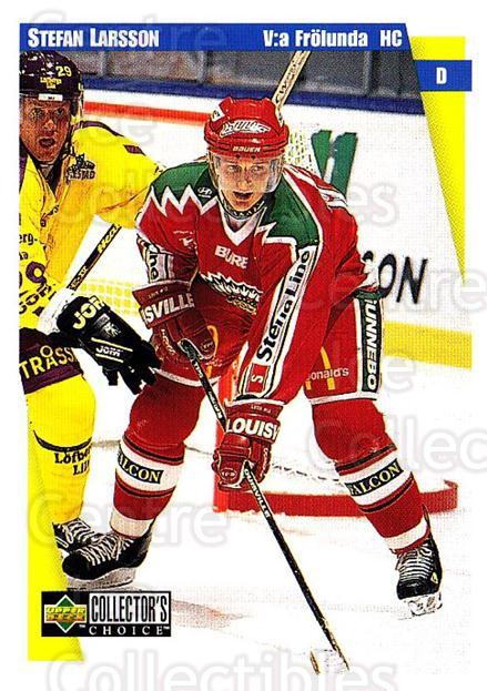 1997-98 Swedish Collectors Choice #74 Stefan Larsson<br/>13 In Stock - $2.00 each - <a href=https://centericecollectibles.foxycart.com/cart?name=1997-98%20Swedish%20Collectors%20Choice%20%2374%20Stefan%20Larsson...&quantity_max=13&price=$2.00&code=159079 class=foxycart> Buy it now! </a>