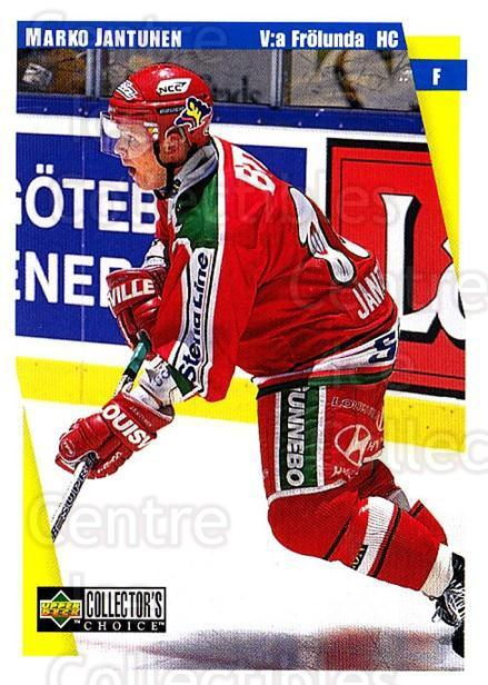 1997-98 Swedish Collectors Choice #76 Marko Jantunen<br/>9 In Stock - $2.00 each - <a href=https://centericecollectibles.foxycart.com/cart?name=1997-98%20Swedish%20Collectors%20Choice%20%2376%20Marko%20Jantunen...&quantity_max=9&price=$2.00&code=159081 class=foxycart> Buy it now! </a>
