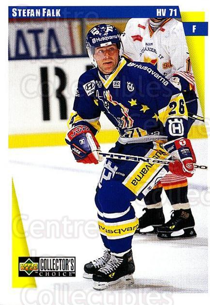 1997-98 Swedish Collectors Choice #92 Stefan Falk<br/>6 In Stock - $2.00 each - <a href=https://centericecollectibles.foxycart.com/cart?name=1997-98%20Swedish%20Collectors%20Choice%20%2392%20Stefan%20Falk...&price=$2.00&code=159099 class=foxycart> Buy it now! </a>