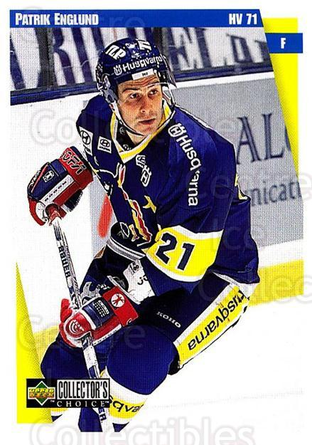 1997-98 Swedish Collectors Choice #99 Patric Englund<br/>7 In Stock - $2.00 each - <a href=https://centericecollectibles.foxycart.com/cart?name=1997-98%20Swedish%20Collectors%20Choice%20%2399%20Patric%20Englund...&price=$2.00&code=159106 class=foxycart> Buy it now! </a>