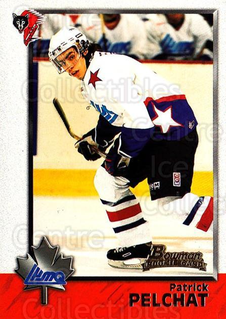 1998 Bowman CHL #88 Patrick Pelchat<br/>11 In Stock - $1.00 each - <a href=https://centericecollectibles.foxycart.com/cart?name=1998%20Bowman%20CHL%20%2388%20Patrick%20Pelchat...&quantity_max=11&price=$1.00&code=159107 class=foxycart> Buy it now! </a>