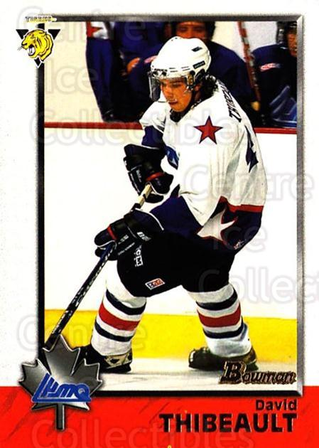 1998 Bowman CHL #96 David Thibeault<br/>10 In Stock - $1.00 each - <a href=https://centericecollectibles.foxycart.com/cart?name=1998%20Bowman%20CHL%20%2396%20David%20Thibeault...&quantity_max=10&price=$1.00&code=159115 class=foxycart> Buy it now! </a>