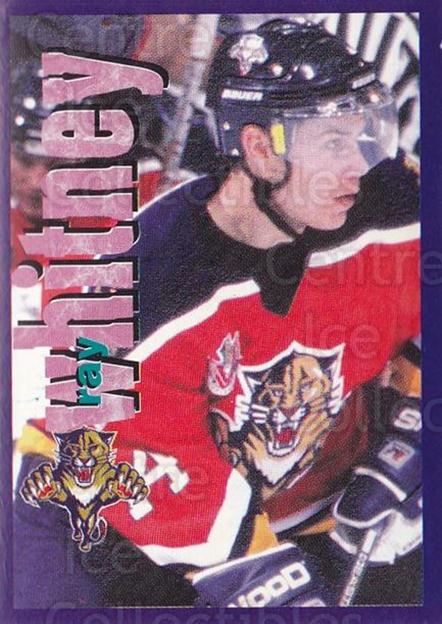 1998-99 Panini Stickers #58 Ray Whitney<br/>5 In Stock - $1.00 each - <a href=https://centericecollectibles.foxycart.com/cart?name=1998-99%20Panini%20Stickers%20%2358%20Ray%20Whitney...&quantity_max=5&price=$1.00&code=159515 class=foxycart> Buy it now! </a>