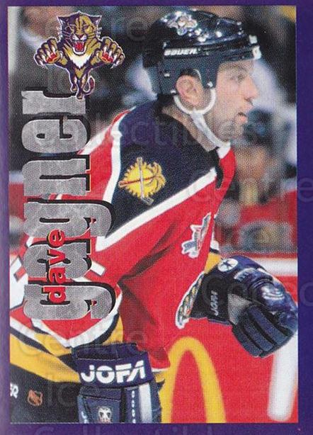 1998-99 Panini Stickers #59 Dave Gagner<br/>6 In Stock - $1.00 each - <a href=https://centericecollectibles.foxycart.com/cart?name=1998-99%20Panini%20Stickers%20%2359%20Dave%20Gagner...&quantity_max=6&price=$1.00&code=159516 class=foxycart> Buy it now! </a>