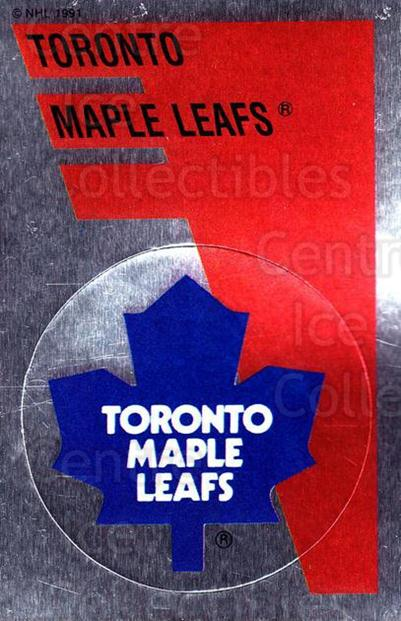 1991-92 Panini Stickers #152 Toronto Maple Leafs<br/>7 In Stock - $1.00 each - <a href=https://centericecollectibles.foxycart.com/cart?name=1991-92%20Panini%20Stickers%20%23152%20Toronto%20Maple%20L...&quantity_max=7&price=$1.00&code=15953 class=foxycart> Buy it now! </a>