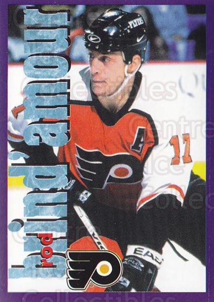 1998-99 Panini Stickers #90 Rod Brind'Amour<br/>5 In Stock - $1.00 each - <a href=https://centericecollectibles.foxycart.com/cart?name=1998-99%20Panini%20Stickers%20%2390%20Rod%20Brind'Amour...&quantity_max=5&price=$1.00&code=159549 class=foxycart> Buy it now! </a>