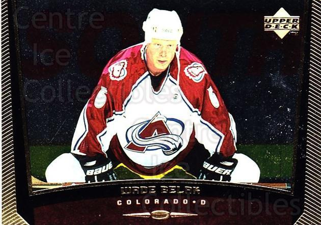 1998-99 Upper Deck Gold Reserve #252 Wade Belak<br/>5 In Stock - $1.00 each - <a href=https://centericecollectibles.foxycart.com/cart?name=1998-99%20Upper%20Deck%20Gold%20Reserve%20%23252%20Wade%20Belak...&quantity_max=5&price=$1.00&code=159664 class=foxycart> Buy it now! </a>