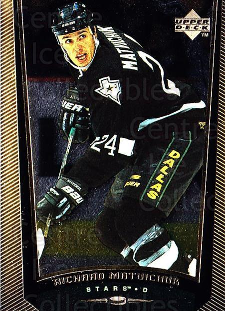 1998-99 Upper Deck Gold Reserve #255 Richard Matvichuk<br/>6 In Stock - $1.00 each - <a href=https://centericecollectibles.foxycart.com/cart?name=1998-99%20Upper%20Deck%20Gold%20Reserve%20%23255%20Richard%20Matvich...&quantity_max=6&price=$1.00&code=159667 class=foxycart> Buy it now! </a>