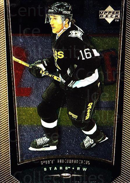 1998-99 Upper Deck Gold Reserve #257 Pat Verbeek<br/>6 In Stock - $1.00 each - <a href=https://centericecollectibles.foxycart.com/cart?name=1998-99%20Upper%20Deck%20Gold%20Reserve%20%23257%20Pat%20Verbeek...&quantity_max=6&price=$1.00&code=159669 class=foxycart> Buy it now! </a>