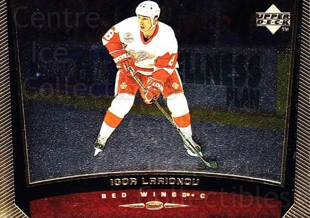 1998-99 Upper Deck Gold Reserve #261 Igor Larionov<br/>6 In Stock - $1.00 each - <a href=https://centericecollectibles.foxycart.com/cart?name=1998-99%20Upper%20Deck%20Gold%20Reserve%20%23261%20Igor%20Larionov...&quantity_max=6&price=$1.00&code=159674 class=foxycart> Buy it now! </a>