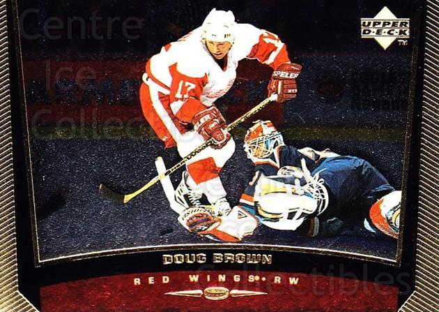 1998-99 Upper Deck Gold Reserve #267 Doug Brown<br/>6 In Stock - $1.00 each - <a href=https://centericecollectibles.foxycart.com/cart?name=1998-99%20Upper%20Deck%20Gold%20Reserve%20%23267%20Doug%20Brown...&quantity_max=6&price=$1.00&code=159679 class=foxycart> Buy it now! </a>