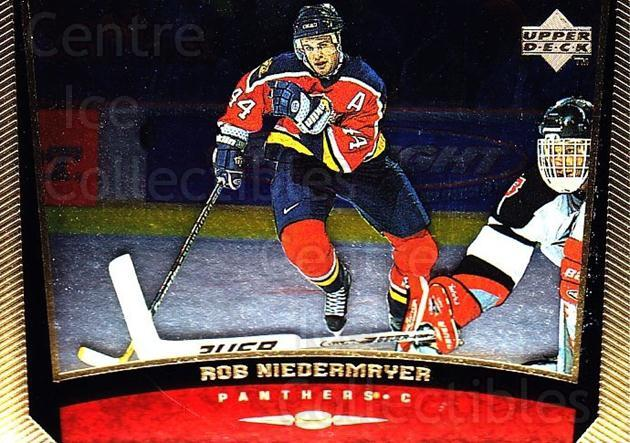 1998-99 Upper Deck Gold Reserve #277 Rob Niedermayer<br/>6 In Stock - $1.00 each - <a href=https://centericecollectibles.foxycart.com/cart?name=1998-99%20Upper%20Deck%20Gold%20Reserve%20%23277%20Rob%20Niedermayer...&quantity_max=6&price=$1.00&code=159688 class=foxycart> Buy it now! </a>